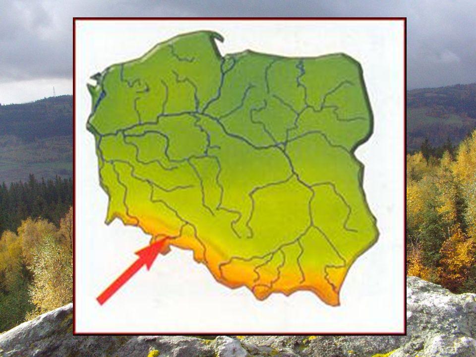Ciekawe obiekty turystyczne w Sudetach Błędne Skały - labirynt skalny położony w Górach Stołowych, na wysokości ok.