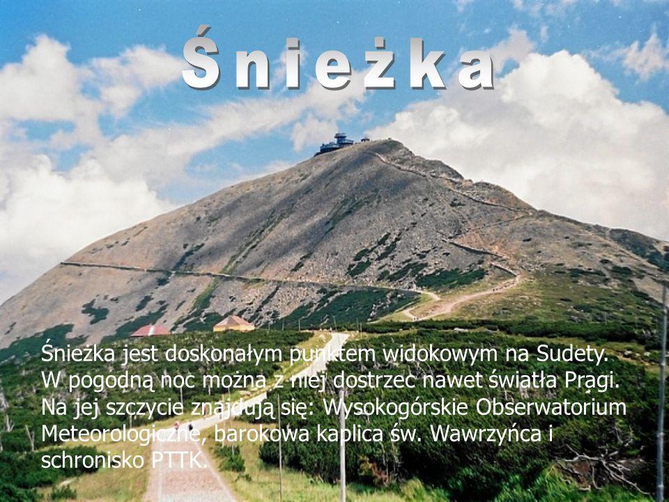 Klimat Klimat Sudetów kształtowany jest przez rzeźbę terenu, w samych górach jest typowo górski – chłodny i wilgotny, natomiast na pogórzu – ciepły i wilgotny.