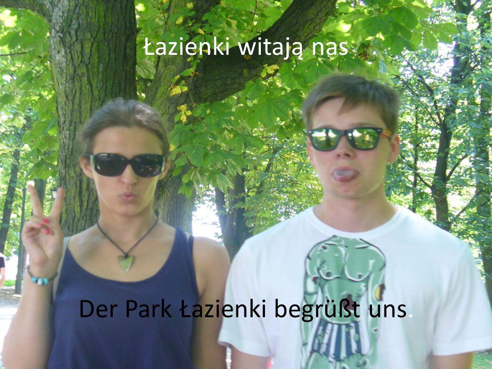 Odwiedziliśmy Warszawę Wir haben die Hauptstadt von Polen – Warschau - besichtigt.