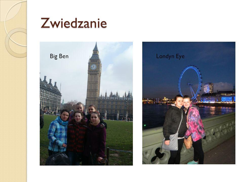 Zwiedzanie Big BenLondyn Eye