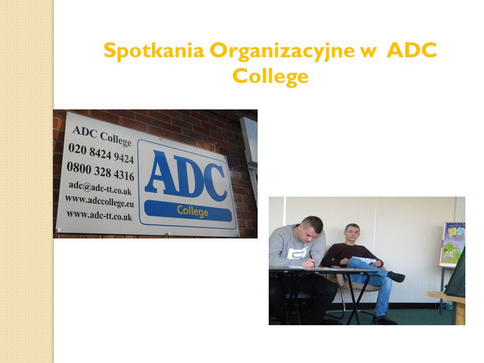 Spotkania Organizacyjne w ADC College