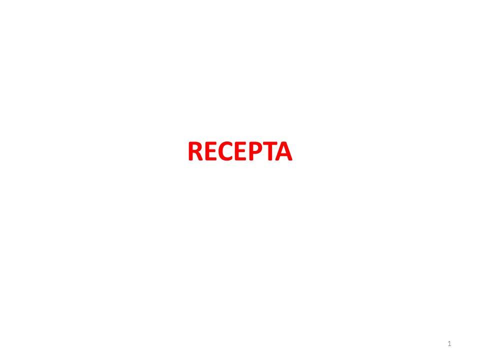 RECEPTA 1