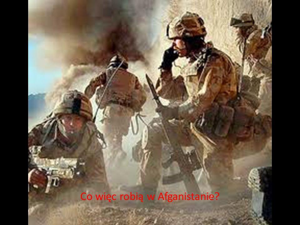 Co więc robią w Afganistanie?