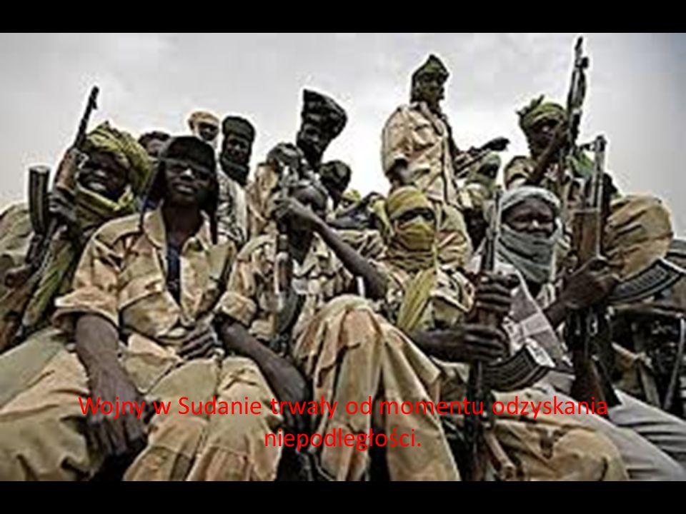 Wojny w Sudanie trwały od momentu odzyskania niepodległości.