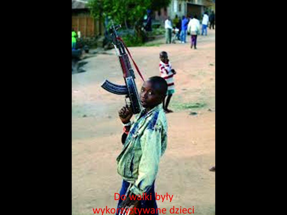 Do walki były wykorzystywane dzieci