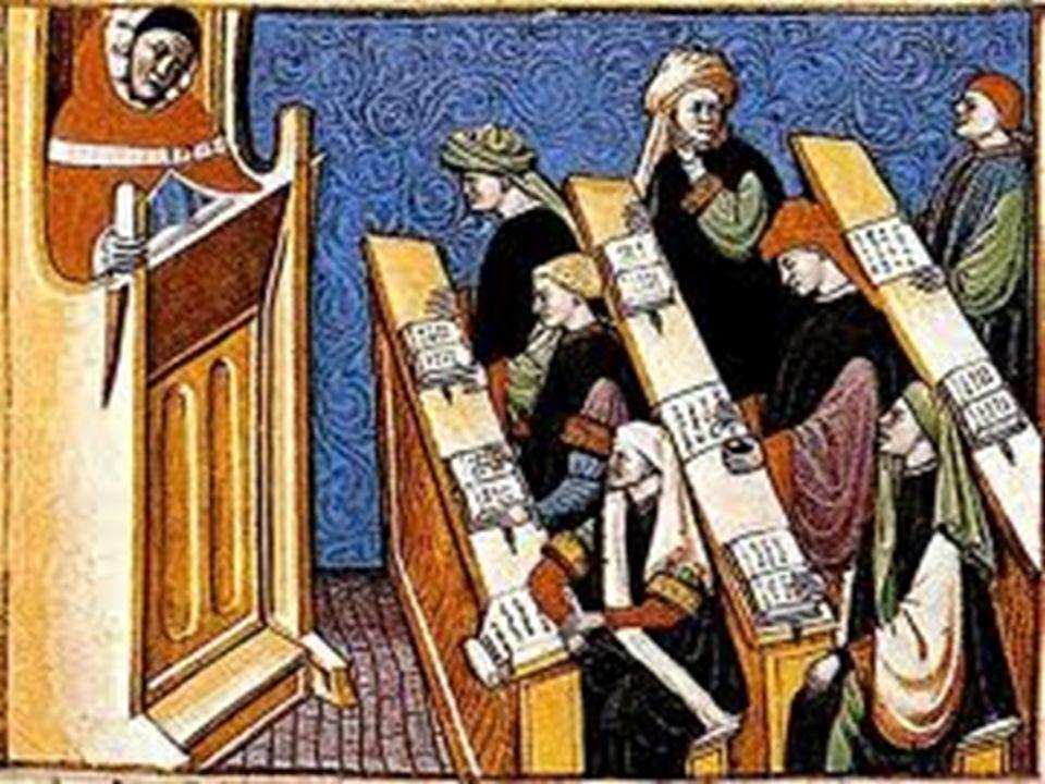 Życie społeczeństwa doby średniowiecza Od połowy okresu średniowiecza (X w.) życie społeczno – polityczne było ściśle związane z konfliktem pomiędzy władzą świecką i duchowną.
