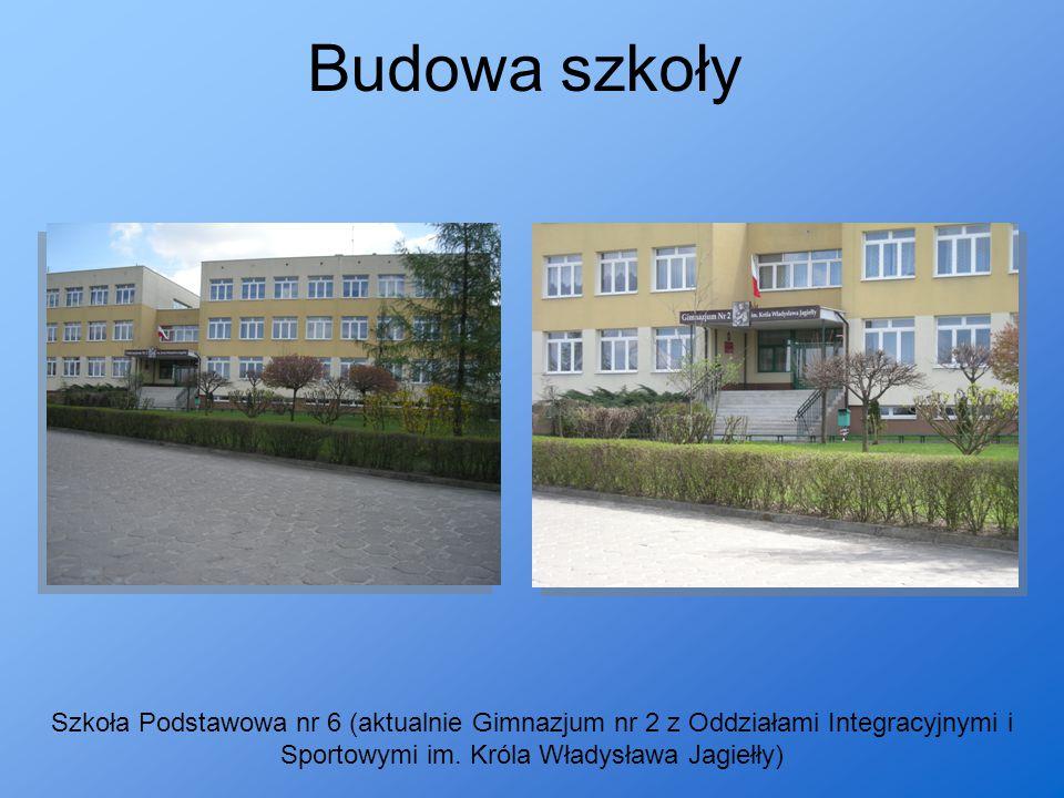 Budowa szkoły Szkoła Podstawowa nr 6 (aktualnie Gimnazjum nr 2 z Oddziałami Integracyjnymi i Sportowymi im. Króla Władysława Jagiełły)