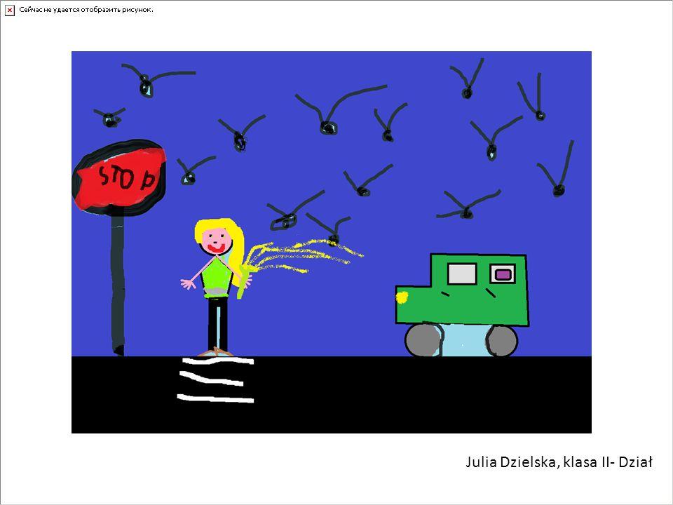 Julia Dzielska, klasa II- Dział