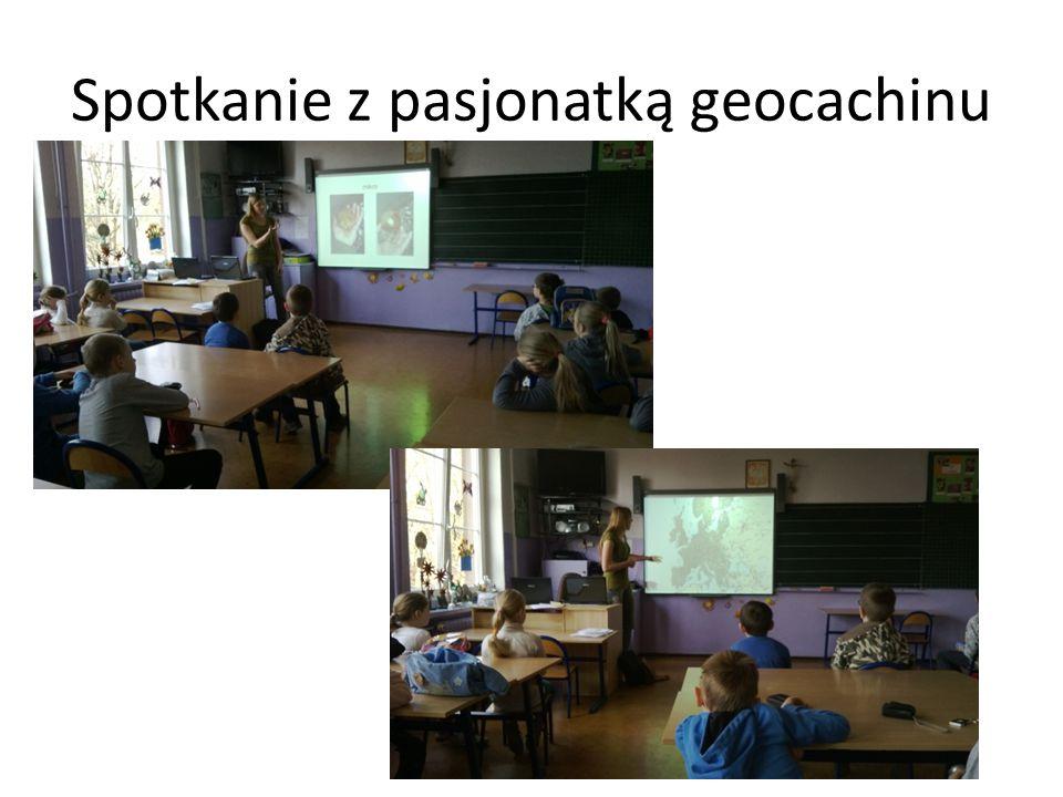 Spotkanie z pasjonatką geocachinu