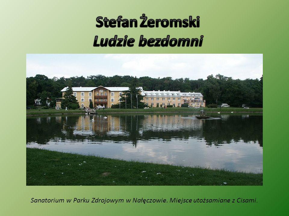 Sanatorium w Parku Zdrojowym w Nałęczowie. Miejsce utożsamiane z Cisami.