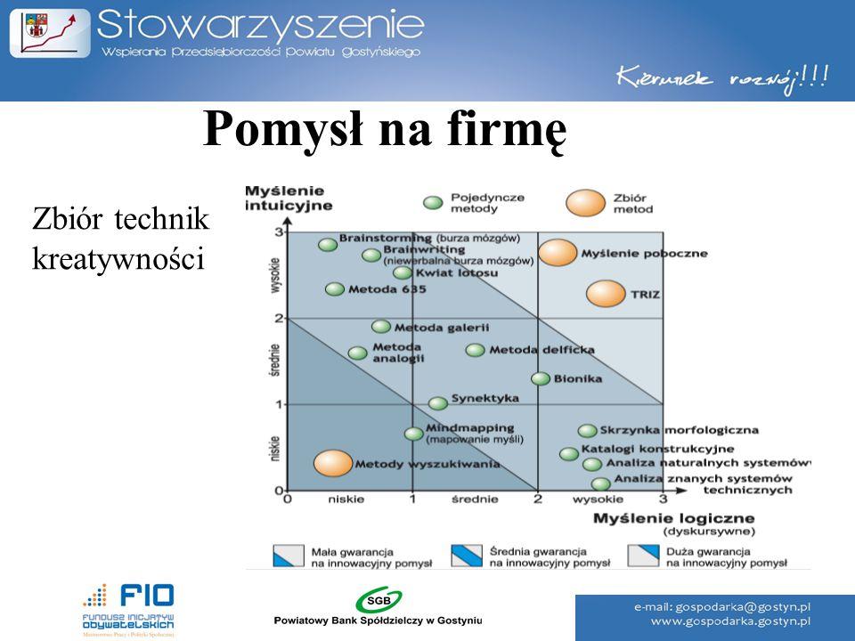 Pomysł na firmę Poziom przedsiębiorczości w powiecie gostyńskim w latach 2004 - 2012 Źródło: Opracowanie własne na podstawie danych GUS