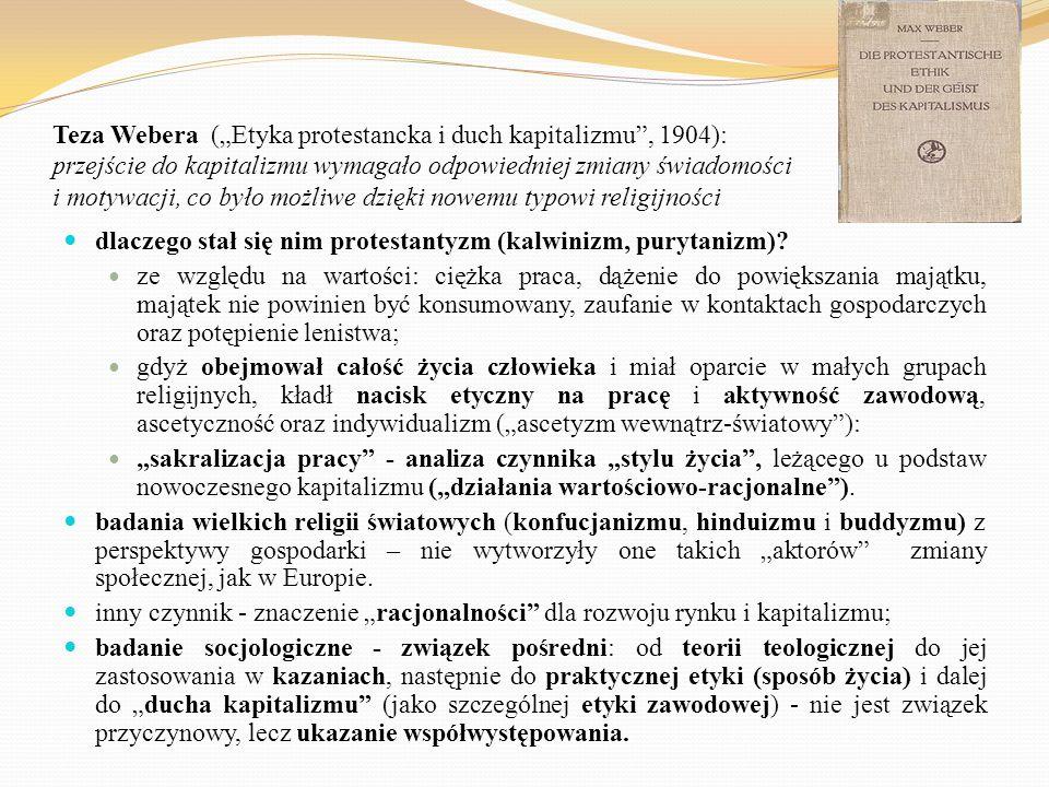 """""""Nowoczesność jako główny temat socjologii socjologia jako """"naukowa samoświadomość nowoczesności : lub inaczej socjologia jako projekt kultury nowoczesnej."""