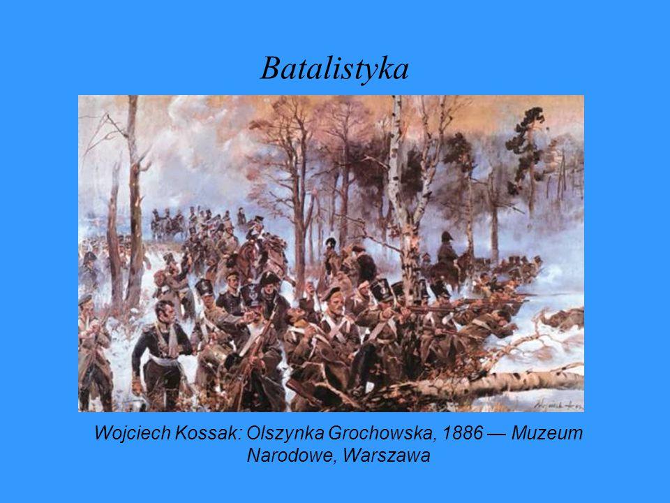 Batalistyka Wojciech Kossak: Olszynka Grochowska, 1886 — Muzeum Narodowe, Warszawa