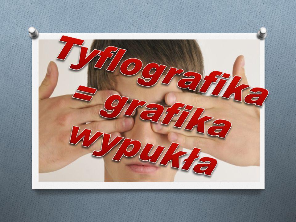O Tyflografika pozwala niewidomym i s ł abowidz ą cym pozna ć, zrozumie ć oraz odwzorowa ć rzeczywisto ść.