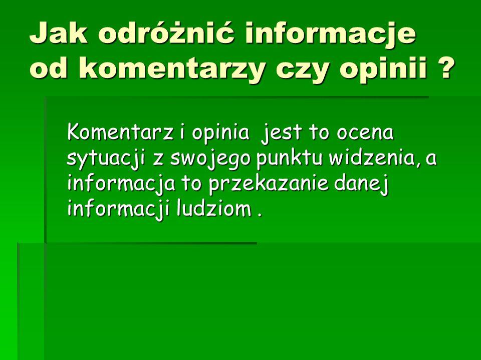 Jak mądrze i skutecznie szukać potrzebnych informacji i materiałów.