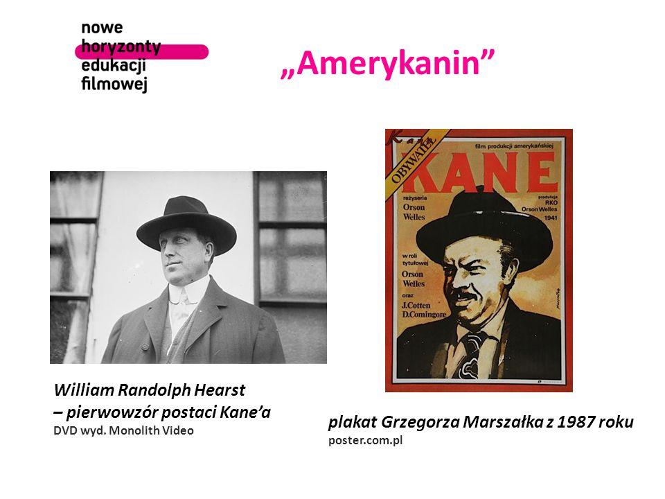 """""""Amerykanin William Randolph Hearst – pierwowzór postaci Kane'a DVD wyd."""