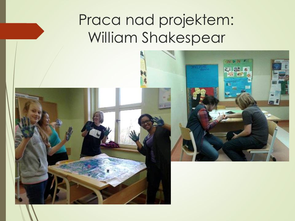 Praca nad projektem: William Shakespear