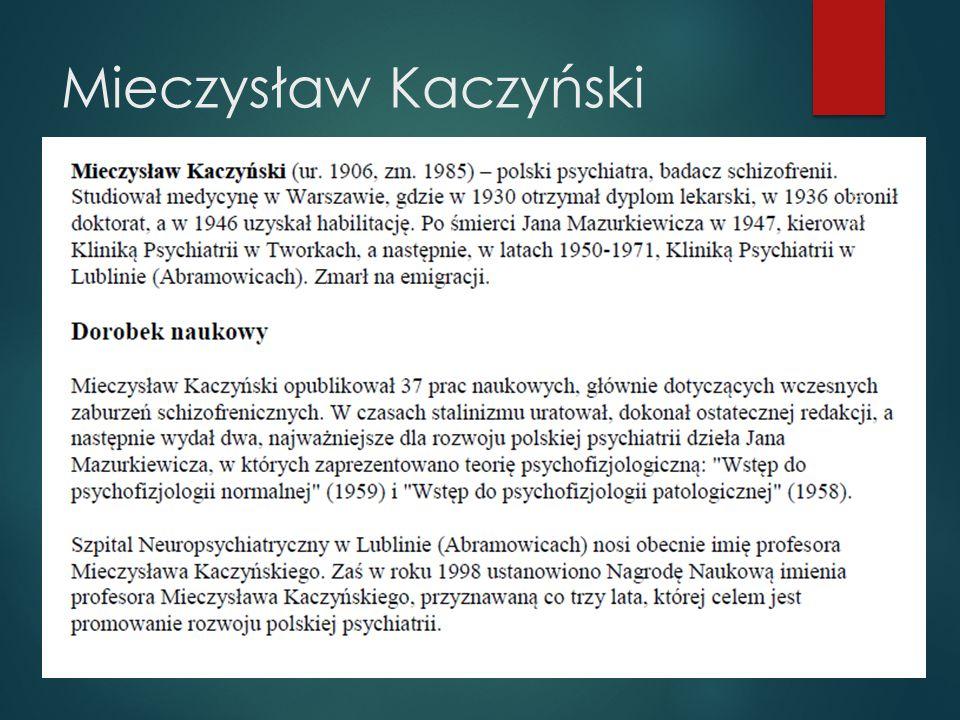 Mieczysław Kaczyński Wikipedia 2013