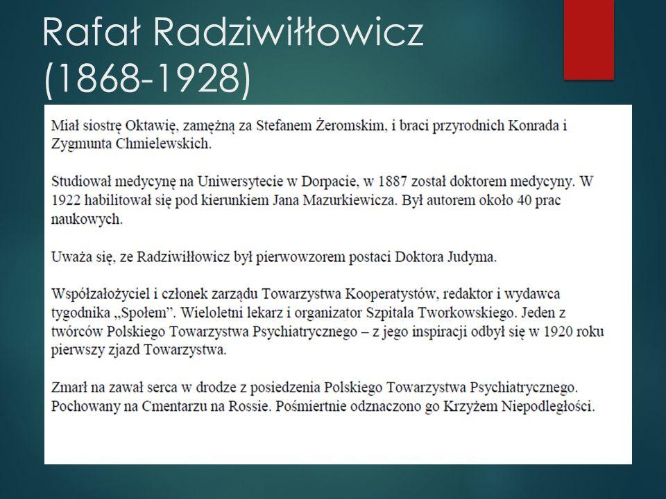 Rafał Radziwiłłowicz (1868-1928) Wikipedia 2013