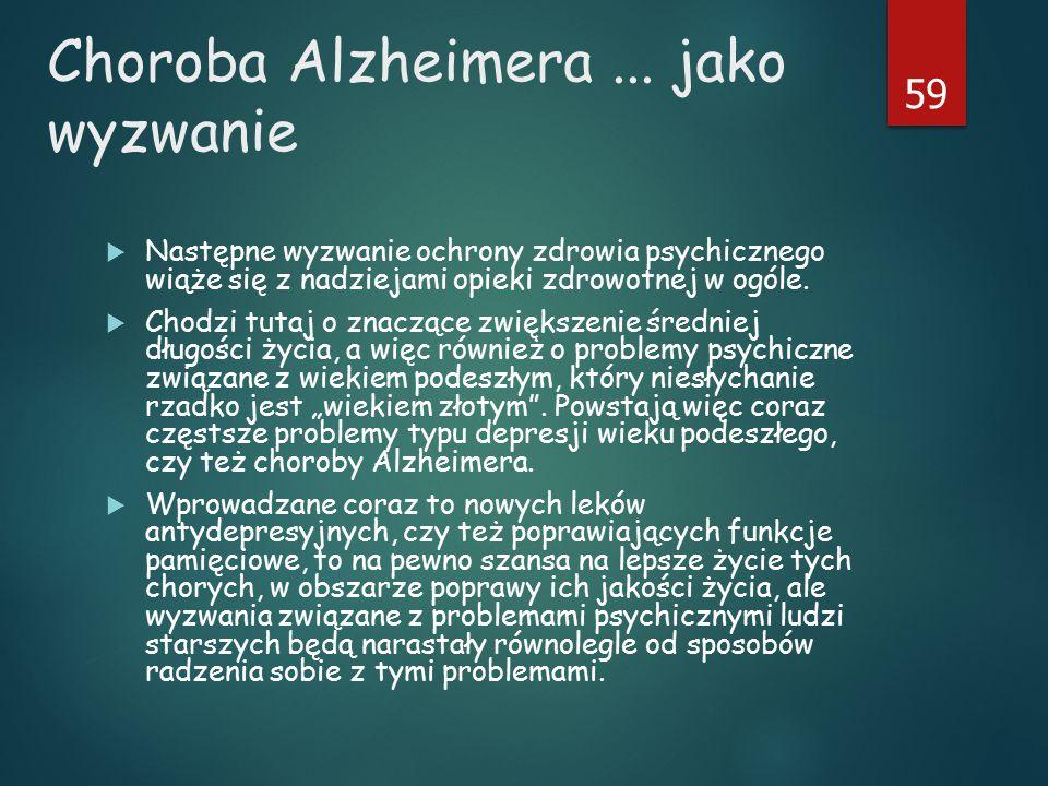 Choroba Alzheimera...