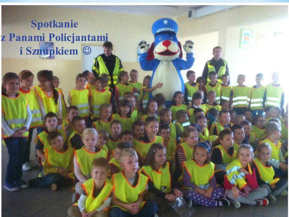 Spotkanie z Panami Policjantami i Sznupkiem