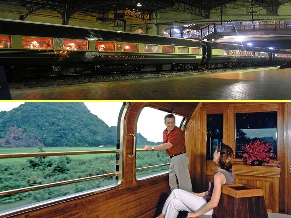 Eastern & Oriental Express biegnie między Bangkok, Kuala Lumpur, Singapur i Penang (i odwrotnie) przez cały rok i jest jedynym luksusowym pociągiem w Azji Południowo-Wschodniej.