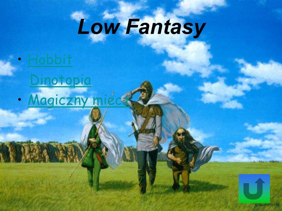 Low Fantasy Hobbit Dinotopia Magiczny miecz
