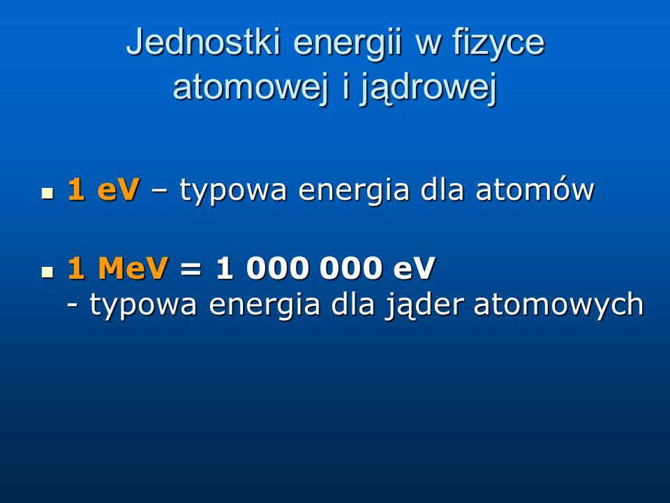 Promieniowanie jonizujące Promieniowanie elektromagnetyczne Promieniowanie elektromagnetyczne o dużej energii (promieniowanie X znane też jako promieniowanie rentgenowskie) o dużej energii (promieniowanie X znane też jako promieniowanie rentgenowskie) Promieniowanie emitowane przez jądra atomowe:  Promieniowanie emitowane przez jądra atomowe:  to promieniowanie o energii (energia pojedynczego fotonu lub pojedynczej cząstki) przekraczających energię wiązania elektronów w atomach.