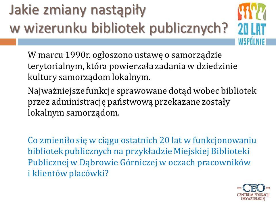 """Miejska Biblioteka Publiczna """"100 lat Miejskiej Biblioteki Publicznej w Dąbrowie Górniczej , opracował Arkadiusz Rybak, Dąbrowa Górnicza 2005 Miejska Biblioteka Publiczna w Dąbrowie Górniczej jest jedną z najstarszych książnic w Zagłębiu Dąbrowskim."""
