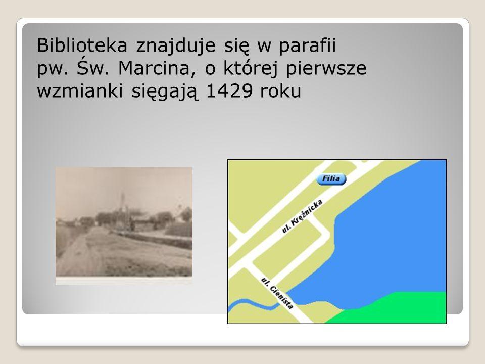 Wykorzystano: materiały zamieszczone na stronie internetowej Miejskiej Biblioteki Publicznej im.