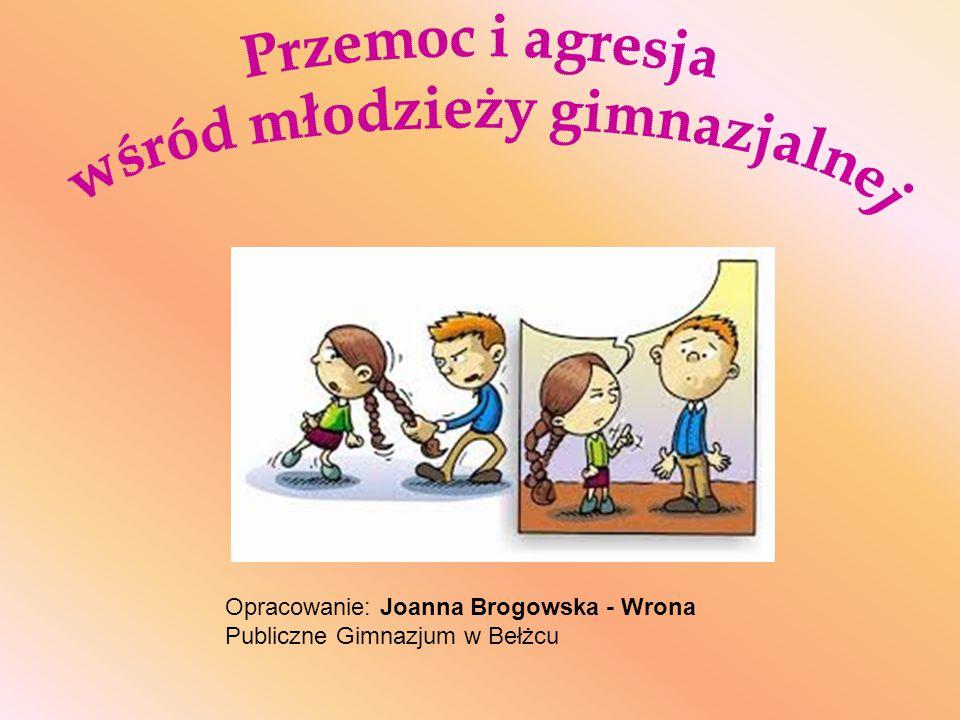 Opracowanie: Joanna Brogowska - Wrona Publiczne Gimnazjum w Bełżcu
