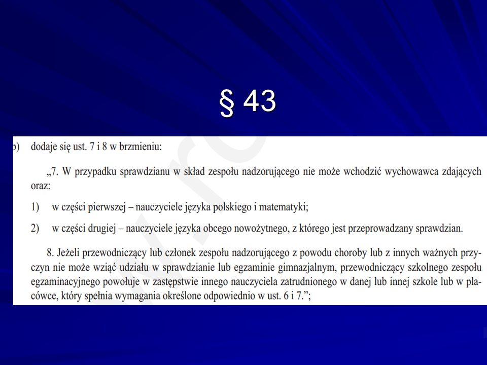 § 43 § 43