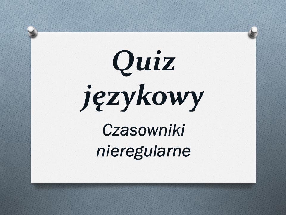 Imiesłów Partizip II czasownika waschen to... a) gewachsen b) gewichen c) gewaschen d)gewiesen