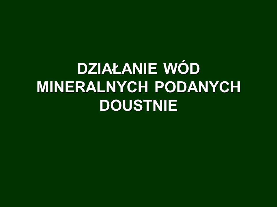 UzdrowiskoNaturalne tworzywa leczniczeKlimat KONSTANCIN Solanki jodkowe, bromkowe, żelaziste Nizinny 100m n.p.m.