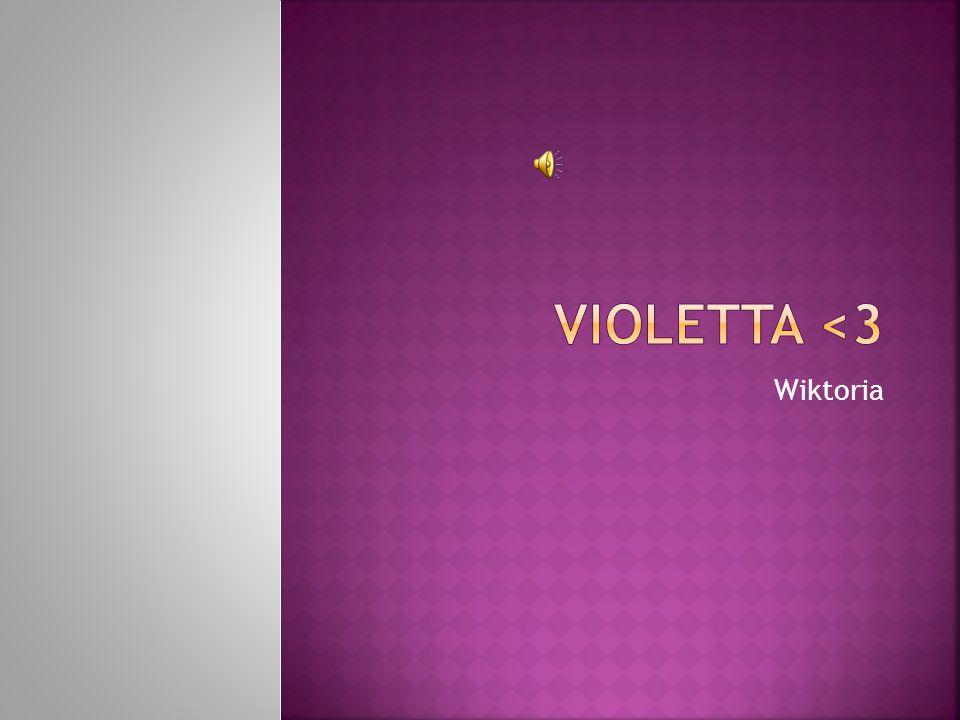  Violetta (Martina Stoessel) Violetta wreszcie znalazła swoje miejsce na ziemi i odkryła, że jej największą pasją jest muzyka.