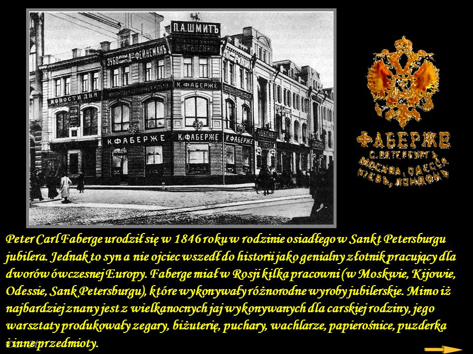 Da - Ma Z różnych zbiorów Oprawa modlitewnika – Muzeum Kremlowskie Porcelanowe koszyczki Wielkanocne z pracowni Faberge