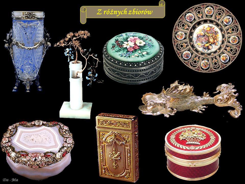 Da - MaZłoto, srebro, kryształ emalia- tradycyjne wzory rosyjskie Z różnych zbiorów