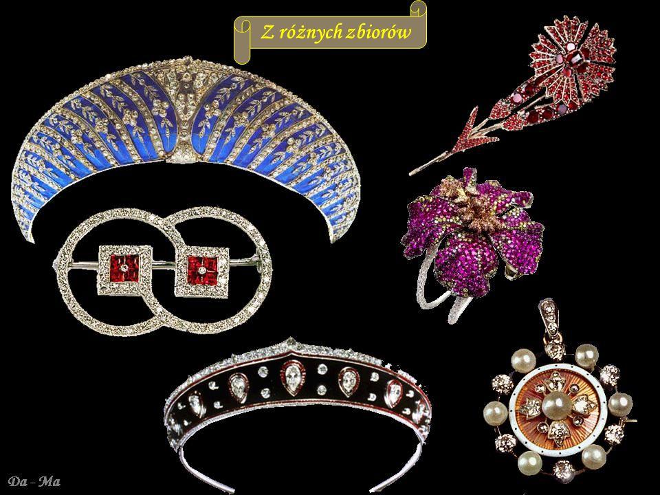 Da - Ma Tiary Romanowych wykonane w pracowni Faberge XIX/XX w.