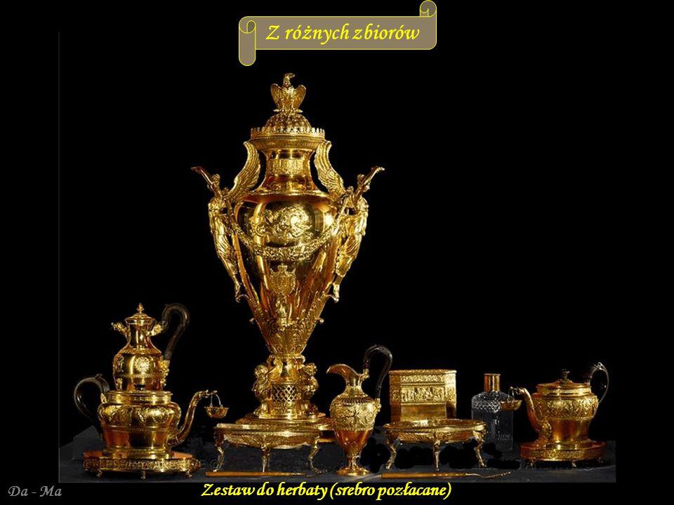Da - Ma Zestaw do herbaty (srebro pozłacane) Z różnych zbiorów