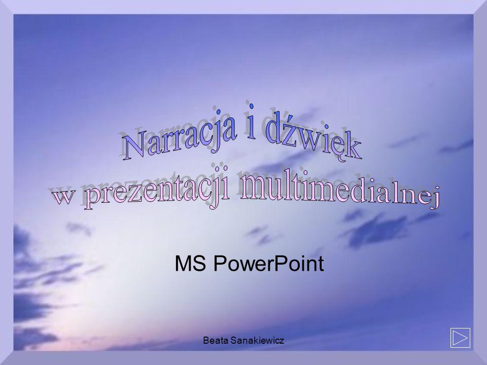 Beata Sanakiewicz MS PowerPoint