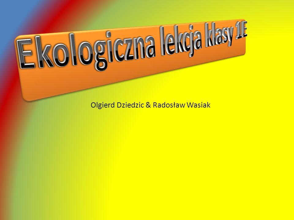 Olgierd Dziedzic & Radosław Wasiak