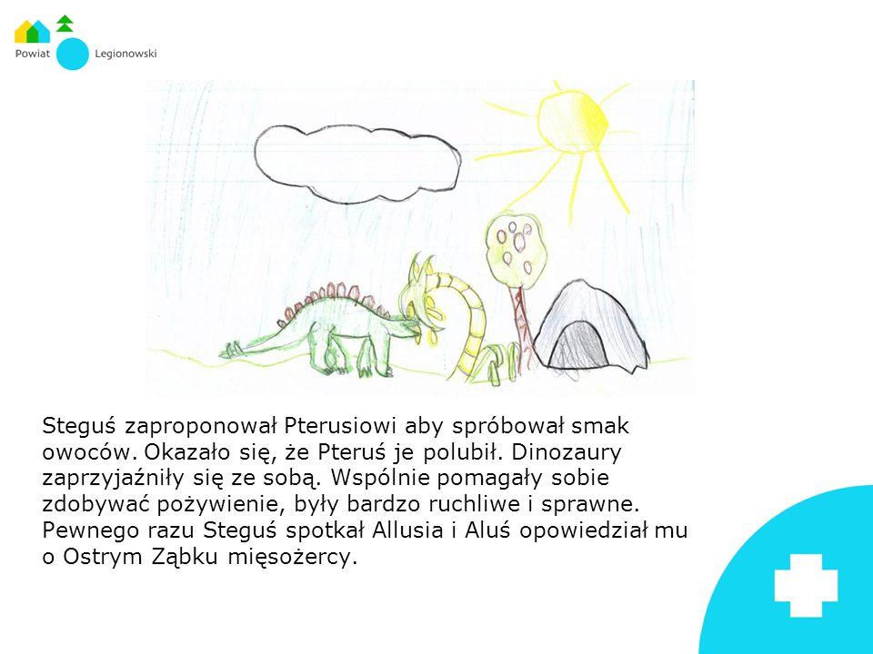 Dinozaur był wyczerpany i osłabiony, ponieważ ciężko zachorował i bolał go brzuch.