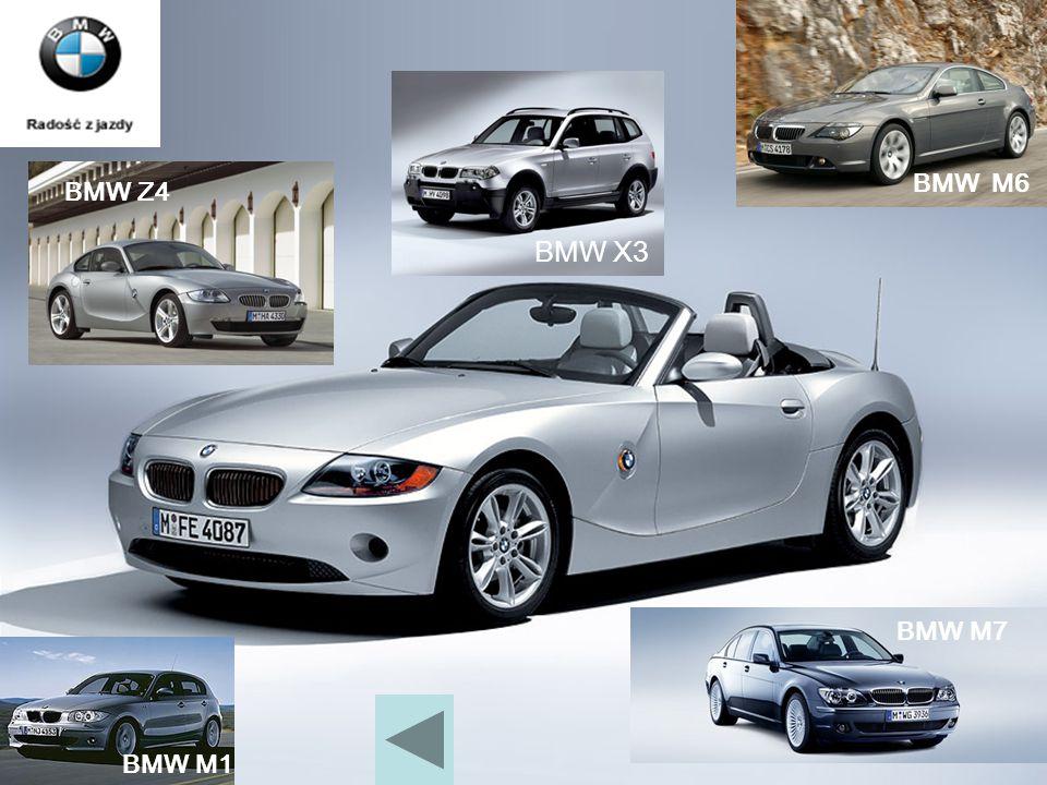 BMW M6 BMW X3 BMW Z4 BMW M1 BMW M7