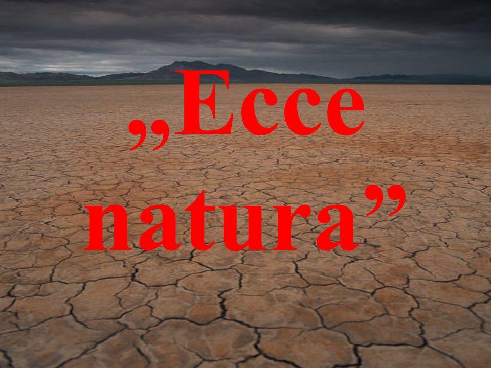 """""""Ecce natura"""