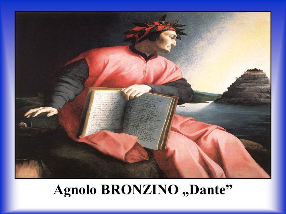 """Agnolo BRONZINO """"Dante"""