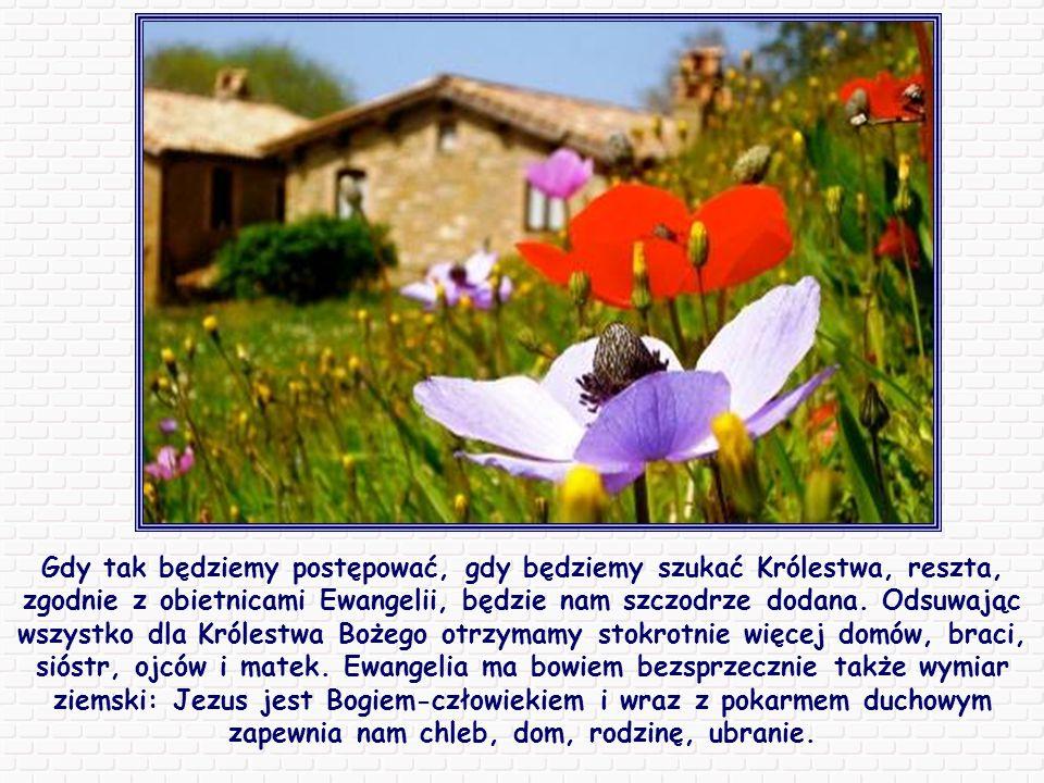 Jest to zachęta do postawienia Boga na pierwszym miejscu, ponad każdą myślą, każdym uczuciem, ponieważ wszystko w naszym życiu powinno kierować się do Niego i od Niego pochodzić.