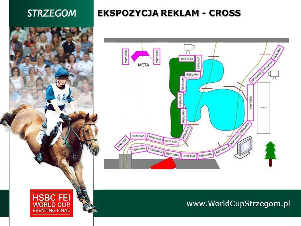 EKSPOZYCJA REKLAM - CROSS www.WorldCupStrzegom.pl