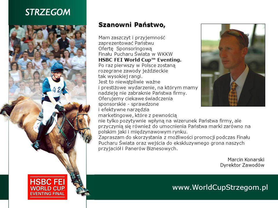 VIP www.WorldCupStrzegom.pl STOLIK SPONSORA Specjalnie przygotowane dla Sponsorów i ich zaproszonych gości stoliki z całodniową rezerwacją, gwarantują jeszcze większy komfort obserwacji sportowych zmagań.