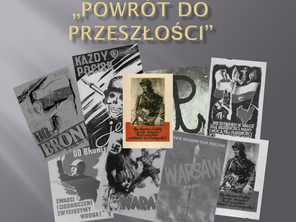 Rysunek satyryczny antyniemiecki z akcji wawerskich.
