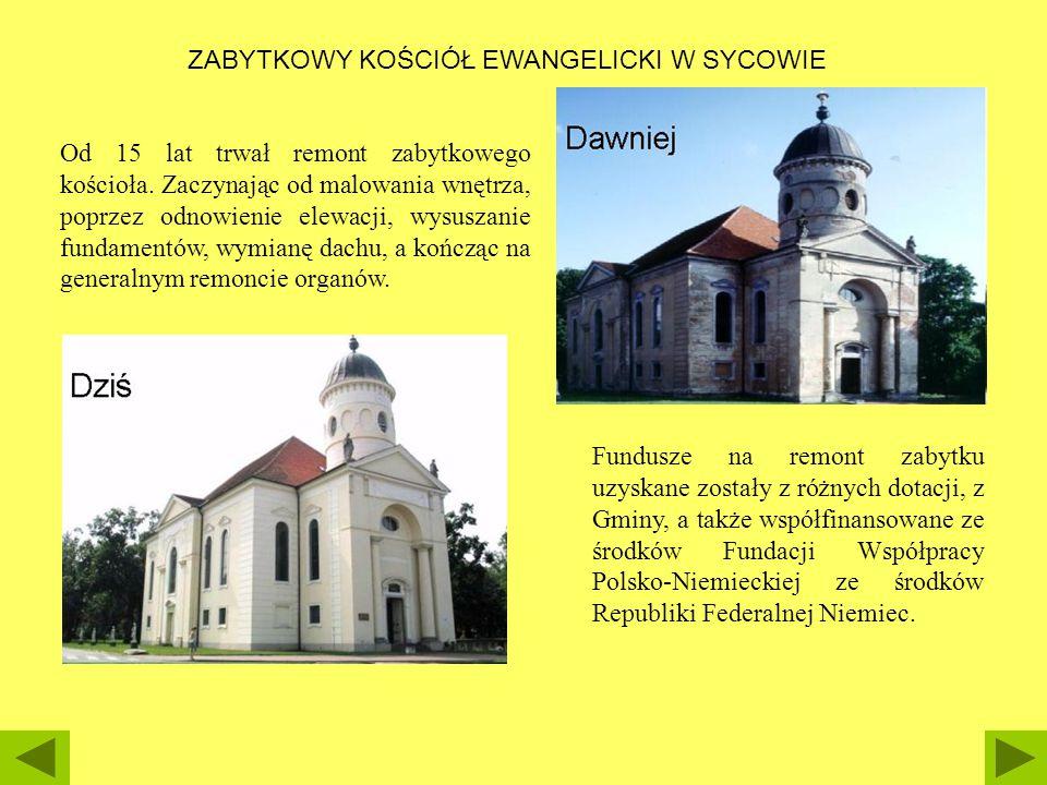 Od 15 lat trwał remont zabytkowego kościoła. Zaczynając od malowania wnętrza, poprzez odnowienie elewacji, wysuszanie fundamentów, wymianę dachu, a ko